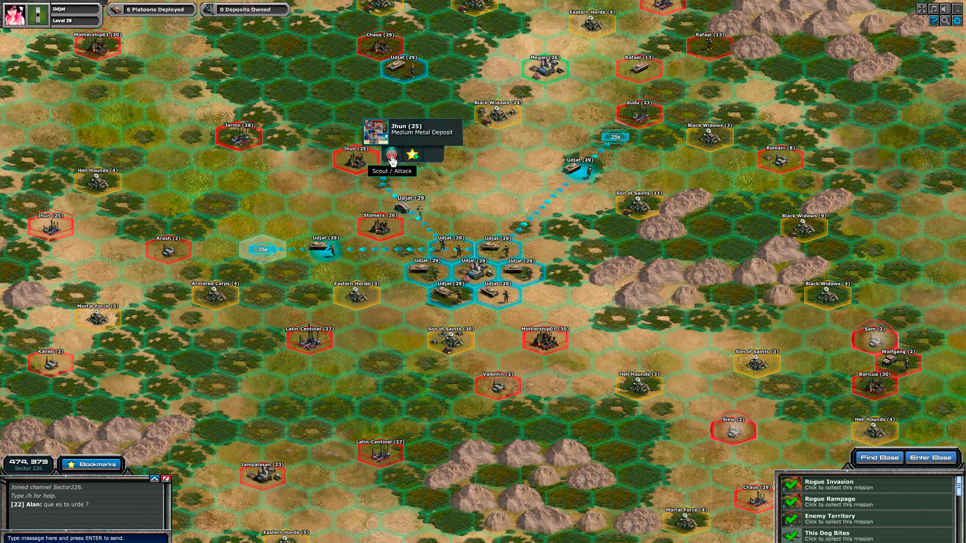 war commander rogue assault mod apk terbaru